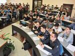 Una delle aule del campus universitario di Forlì (foto d'archivio)