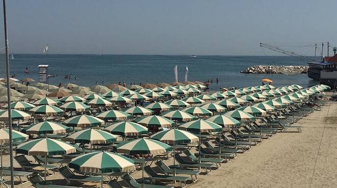 Cervia, spiaggia