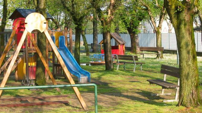 Il parco giochi Millepiedi