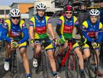 Nella foto gli allievi del Pedale Azzurro Rinascita Ravenna