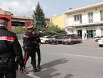 I Carabinieri intervenuti sul luogo della rapina