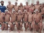 I pallanuotisti e tecnici della squadra Under 17 del Centro Sub Nuoto