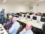 I pensionati CNA che hanno partecipato al corso di informatica