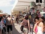 Un mercato ambulante a Rimini
