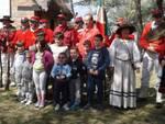 Cerimonia al Capanno sulla via Baiona per la Festa della Repubblica