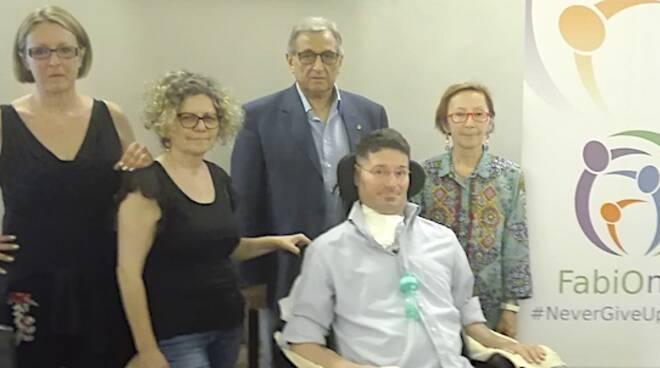 Fabio Bazzocchi con Cristina Ianiro, Valeria Chieregato, Davide Rossi e Claudia Subini