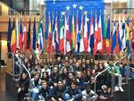 Gli studenti di Marina di Ravenna in visita al Parlamento Europeo di Strasburgo