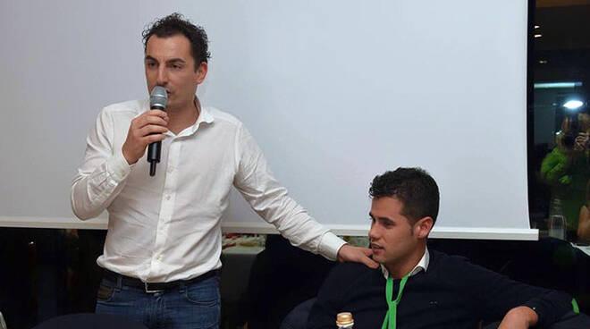 Jacopo Morrone (a sinistra)