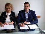 L'accordo di collaborazione firmato dal sindaco con la direttrice del distretto ravennate Ausl Roberta Mazzoni