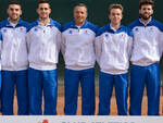 La formazione di serie C del Tennis Club Faenza