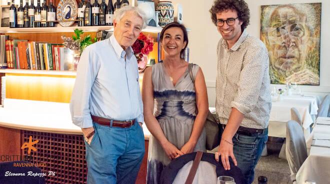 Matteo Cavezzali con Bignardi e Augias