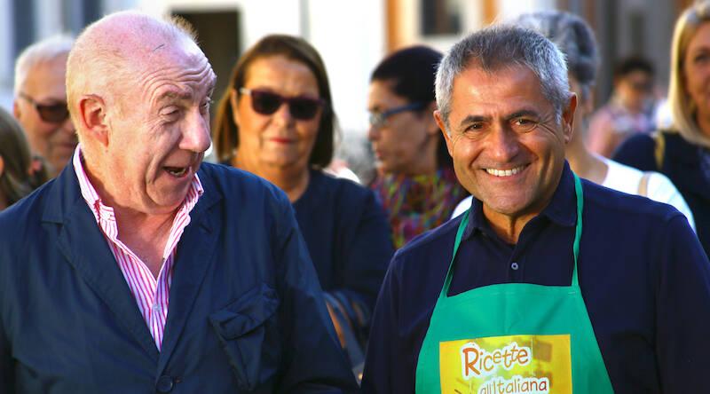 Nevio Ronconi con Davide Mengacci