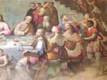 Un quadro degli artisti Longhi nel refettorio camaldolese