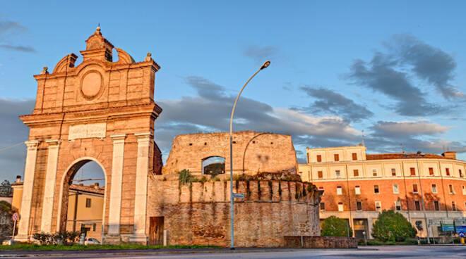 Il centro storico di Forlì (foto archivio Blaco)
