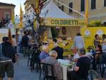 La 'piazza del Cibo Giusto' promossa degli agriturismi Terranostra-Campagna Amica di Coldiretti Forlì-Cesena e Rimini