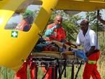 Per le gravi lesioni il 12enne è stato trasportato in elicottero al 'Bufalini' di Cesena (foto d'archivio)