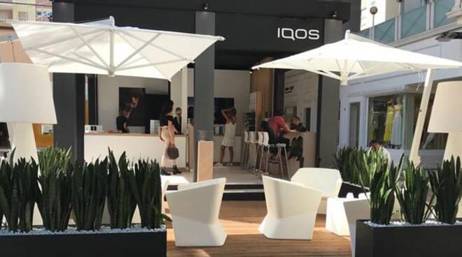 IQOS Lounge di Philip Morris, Riccione