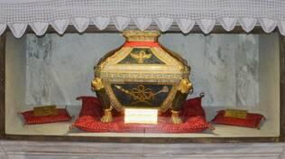 La teca con le reliquie di San Mercuriale a Forlì