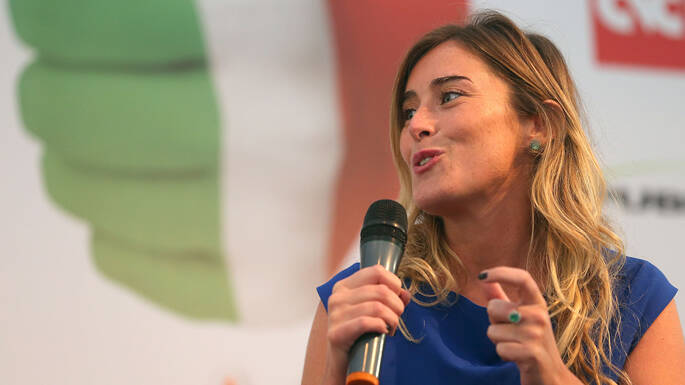 Maria Elena Boschi, deputata Pd e membro della commissione Bilancio