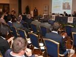 Un momento dell'assemblea straordinaria di Confindustria Forlì Cesena svoltasi all'hotel Globus di Forlì