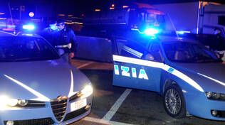 Giorni e serate di intenso lavoro per gli uomini della Polizia di Stato in Riviera (foto d'archivio)