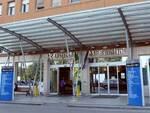L'ingresso dell'ospedale Bufalini di Cesena