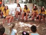 Le magliette gialle alla scuola dell'Infanzia Giuseppe e Anita Monti