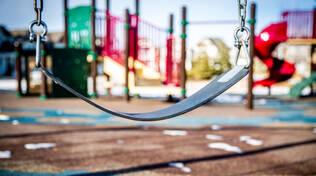 Parco giochi, foto di repertorio