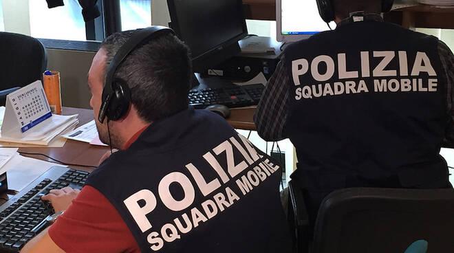 Personale della Squadra Mobile (foto d'archivio)