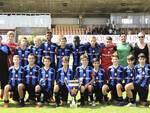 La squadra dell'Atalanta, vincitrice di Ravenna Top Cup