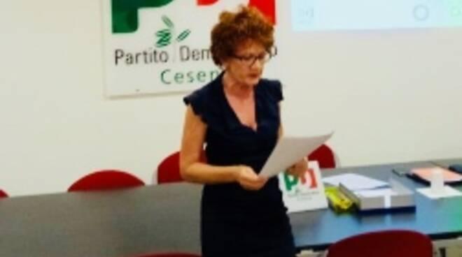 Maria Laura Moretti in assemblea