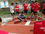 I ragazzi del liceo scientifico indirizzo sportivo dell'Oriani di Ravenna