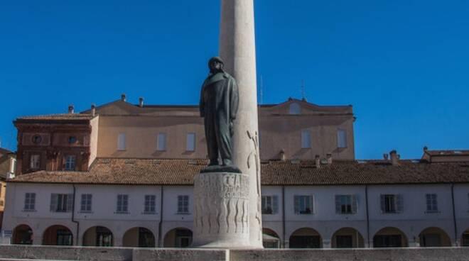 Il monumento a Francesco Baracca - Lugo