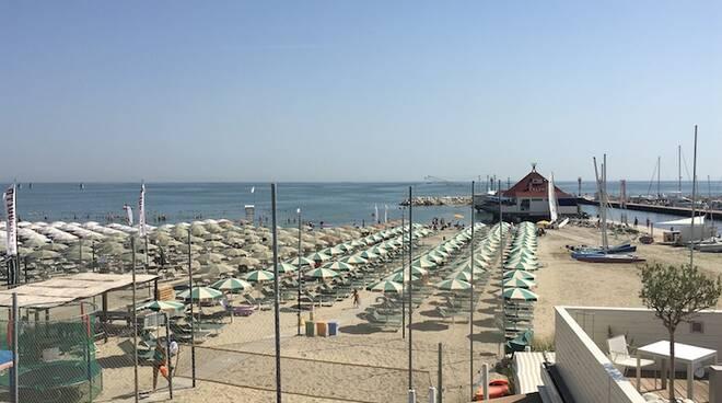 La spiaggia di Cervia sarà interessata da lavori di protezione dalle mareggiate