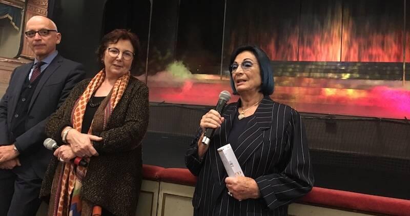 Antonio De Rosa, Elsa Signorino e Cristina Muti