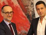 Giuseppe Savioli con Emanuele Magnani