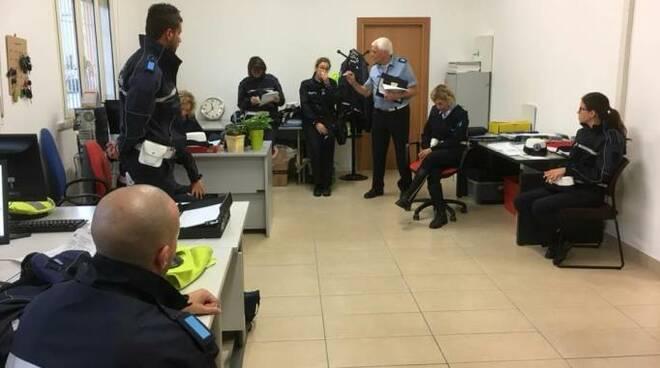 Gli uffici della nuova sede a servizio di cinque comuni (Savignano, Gatteo, Sogliano, Borghi e Roncofreddo)