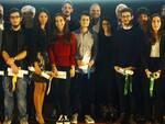 I premiati in occasione della consegna delle Borse di Studio del Gruppo Tampieri