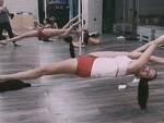 Matilde Foschi durante un allenamento