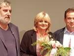 Maura Masotti con Costantino Ricci e Giancarlo Bertozzi