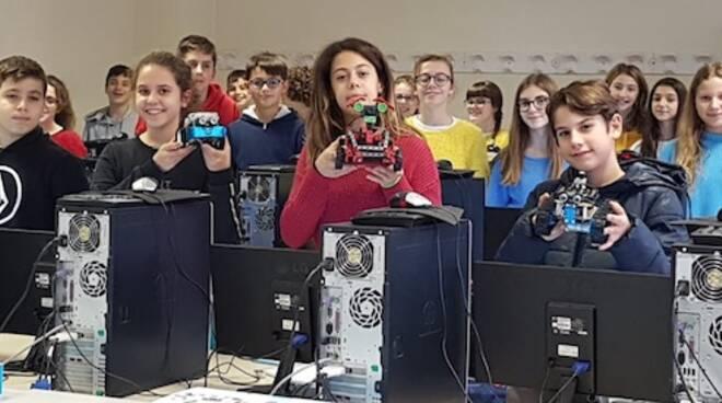 Nuovo laboratorio di robotica