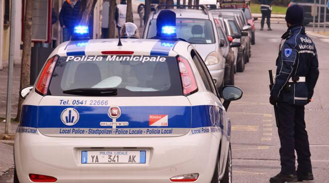 Quinta prova su strada del nuovo sistema in dotazione alla Municipale di Rimini per il controllo della velocità