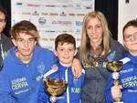 Alcuni schermidori del Circolo della Spada Cervia premiati al Gran Prix 2018