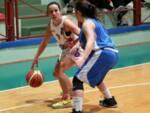 Cedrini in azione (foto dal sito ufficiale Aics Basket Forlì)