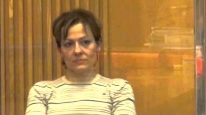 Daniela Poggiali in uno scatto durante il processo
