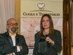 Giovanni Morgese, presidente Cuore e Territorio, e il Sostituto procuratore Cristina D'Aniello