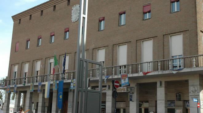 Il municipio di Cotignola