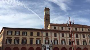 Il municipio di Forlì (foto d'archivio)