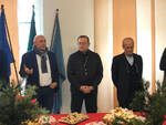 Il Sindaco di Ravenna e l'Arcivescovo Ghizzoni con i vertici di Legacoop e Federcoop