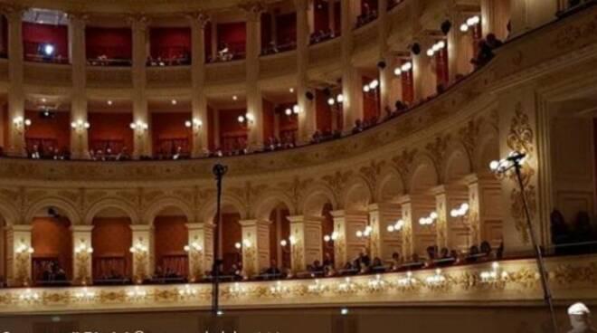 L'interno del Teatro Amintore Galli, restituito dopo 75 anni alla città di Rimini il 28 ottobre scorso